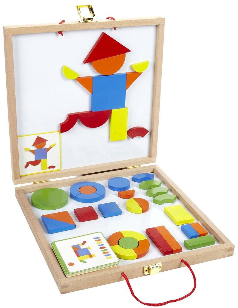 Juego de formas método Montessori
