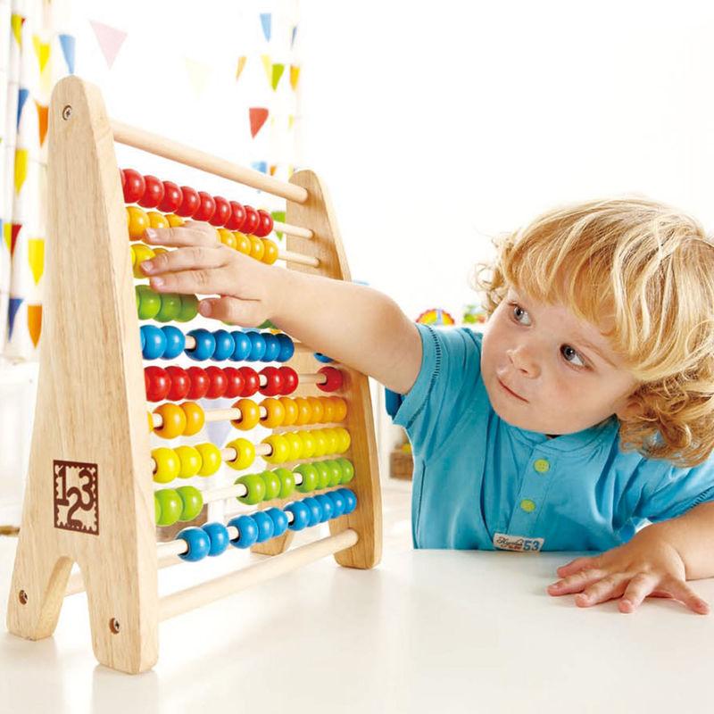 Juego Ábaco De Madera Método Montessori