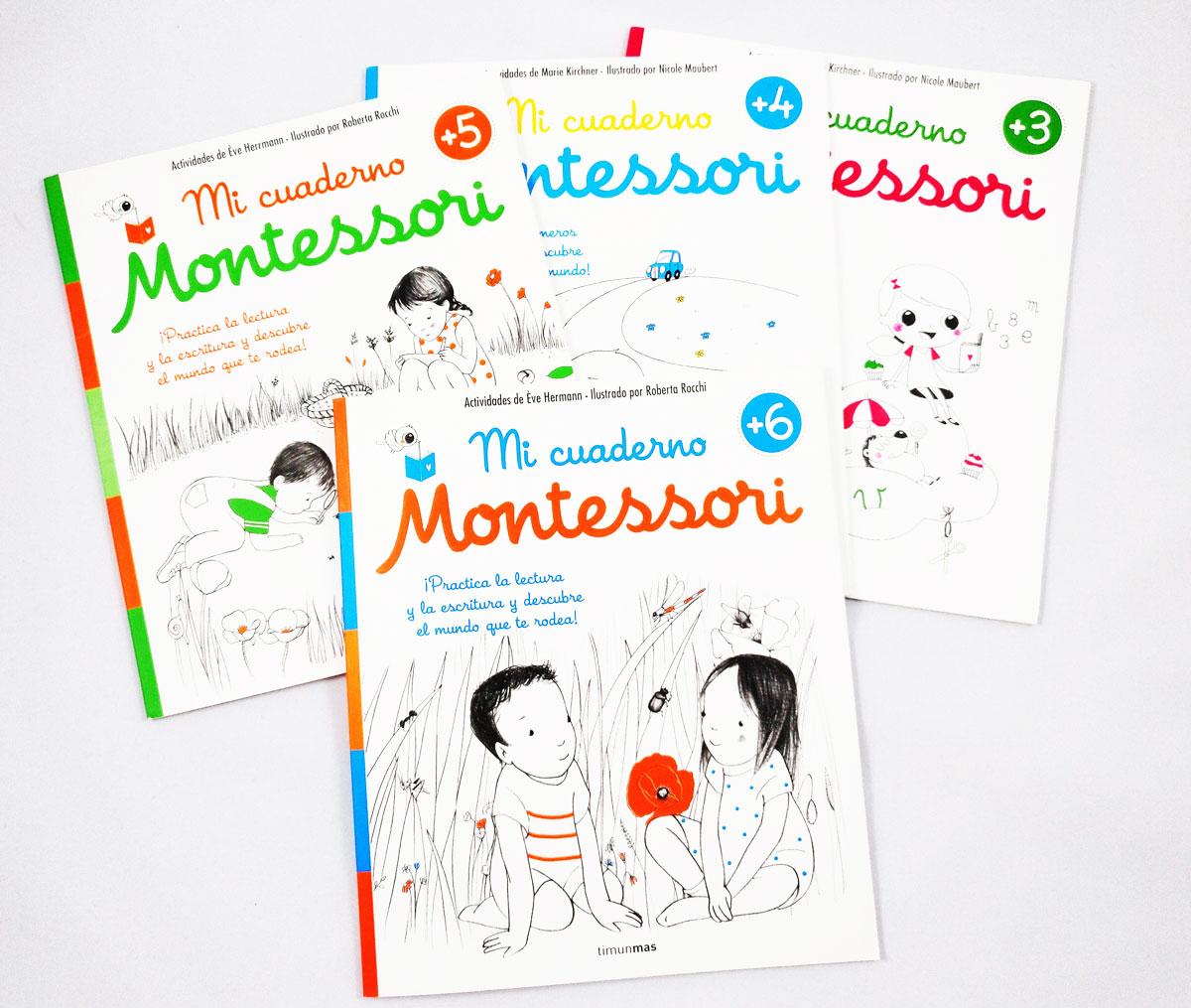 Mi cuaderno Montessori +3 +4 +5 +6