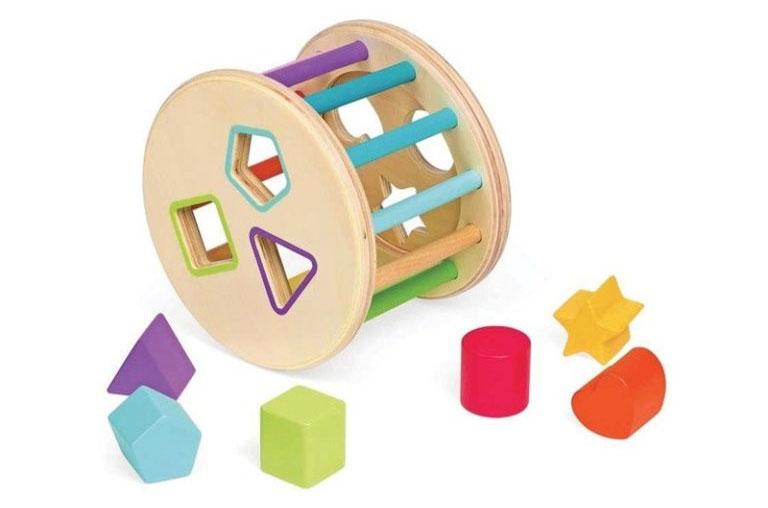 Juego de rodar y encajar método Montessori