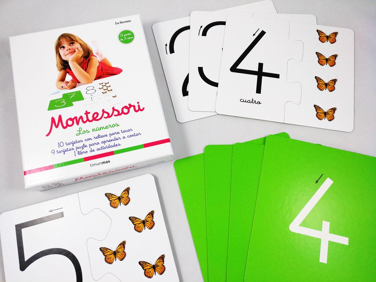 Kit primeros números método Montessori
