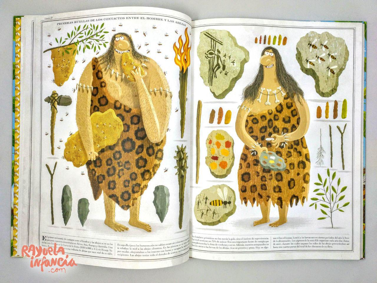 abejas libro ilustrado sobre las abejas maeva young