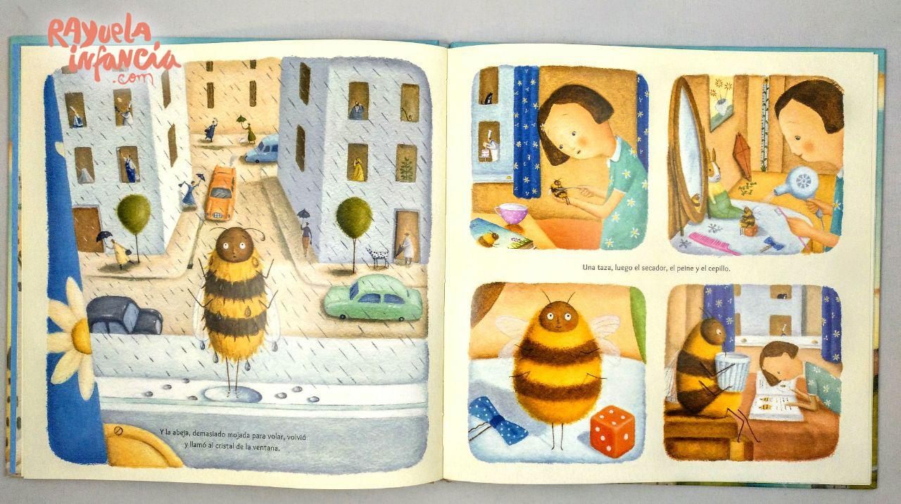 mi abeja y yo album ilustrado editorial juventud