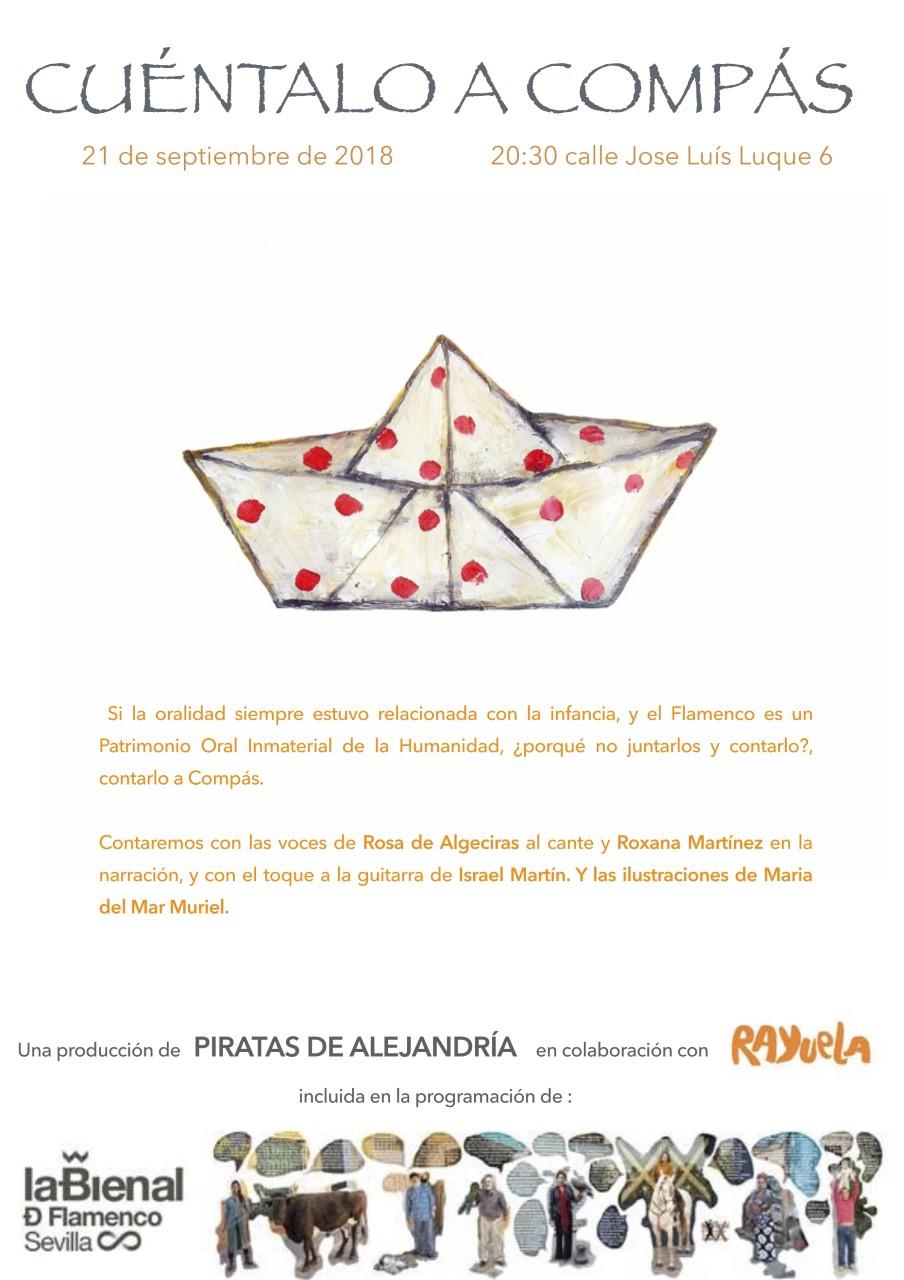 Actividad en Rayuela de La Bienal de Flamenco 2018: cuéntalo a compás