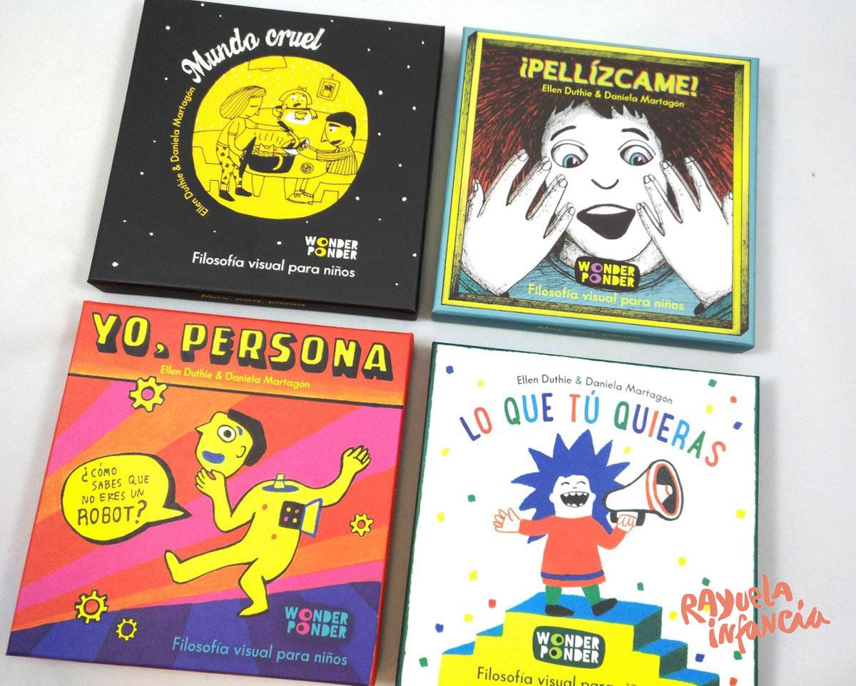 Taller de filosofia visual para ninos en Rayuela Wonder Ponder