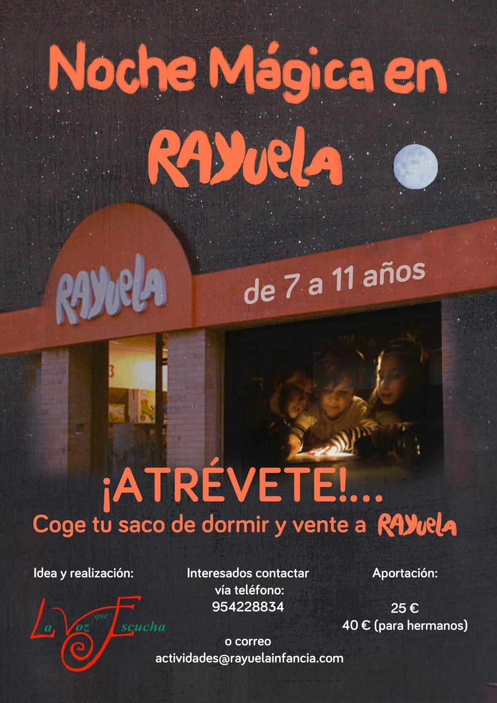 Noche magica en Rayuela Viaje en el Tiempo Actividades para Ninos