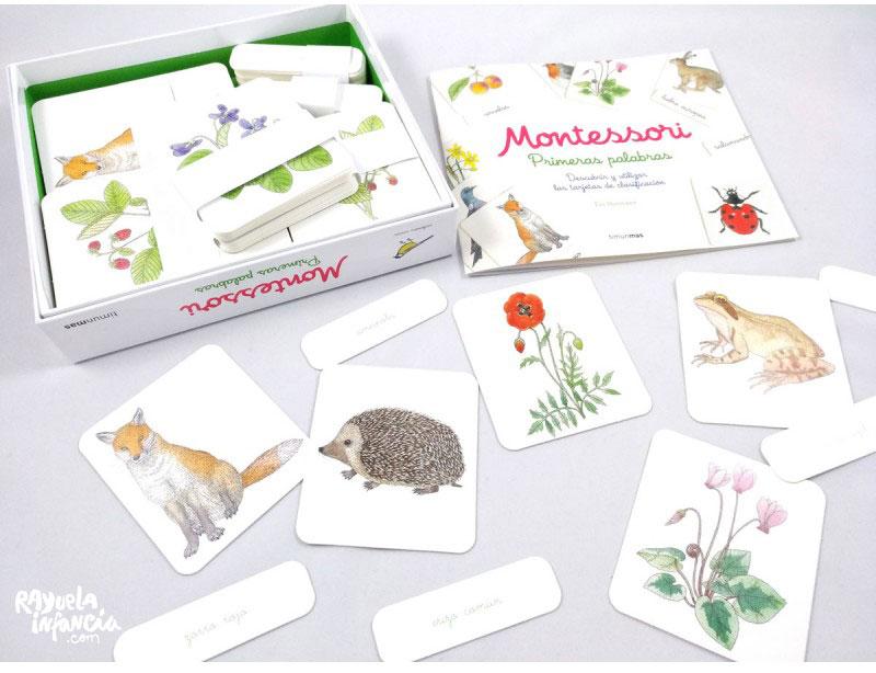REGALOS ESPECIALES PARA NINOS DE 3 A 6 ANOS Kit Montessori Primeras Palabras