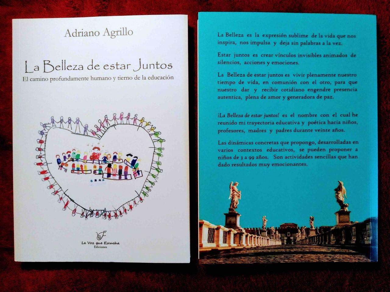 PRESENTACION DEL LIBRO LA BELLEZA DE ESTAR JUNTOS DE ADRIANO AGRILLO