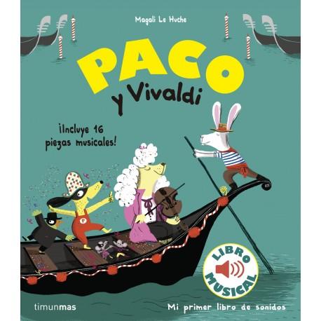 PACO Y VIVALDI Mi primer Libro de Sonidos Timun Mas Portada Libro