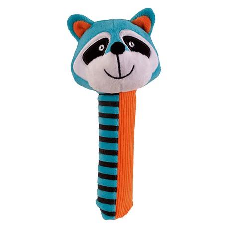 SONAJERO MAPACHE Raccoon Squeakaboo Fiesta Crafts