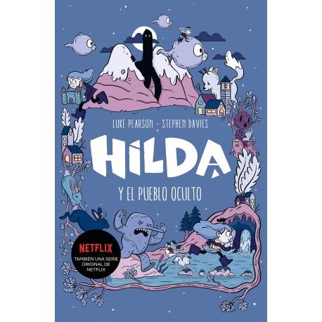 HILDA Y EL PUEBLO OCULTO Montena Portada Libro