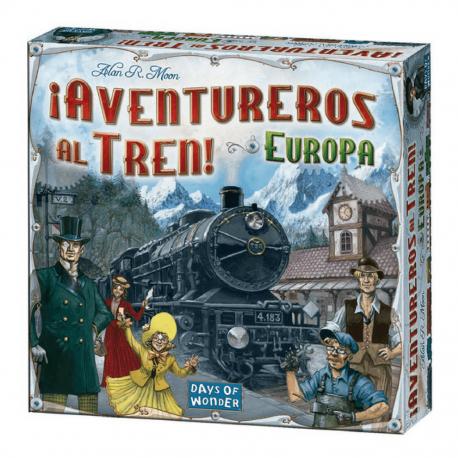 AVENTUREROS AL TREN EUROPA Ticket To Ride Days Of Wonder