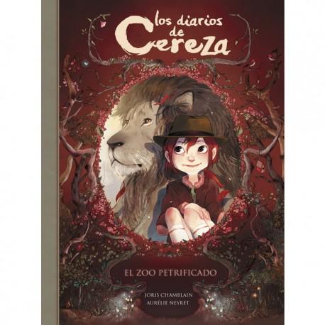 EL ZOO PETRIFICADO Los Diarios de Cereza Alfaguara Portada Libro