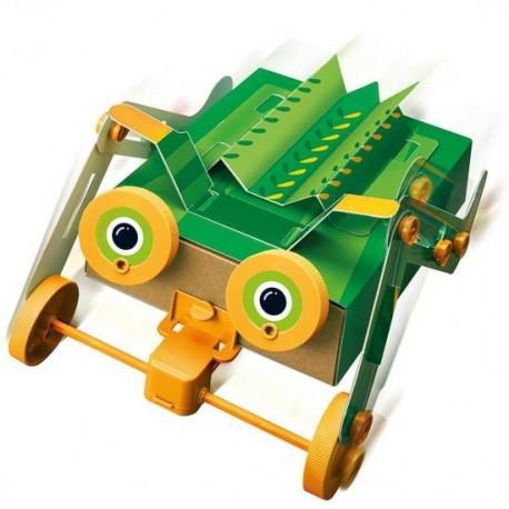 CONSTRUCCION ROBOT INSECTO 4M Motorised Robot Bug Detalle