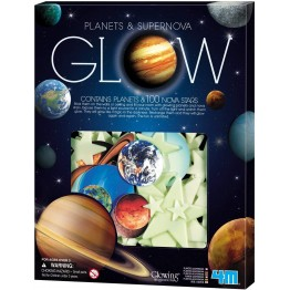 PLANETAS Y SUPERNOVA GLOW