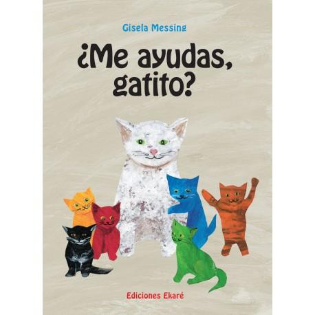 ME AYUDAS GATITO Ekare Portada Libro
