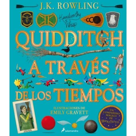 QUIDDITCH A TRAVÉS DE LOS TIEMPOS Libro