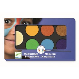 MAQUILLAJE 6 COLORES NATURAL DJECO