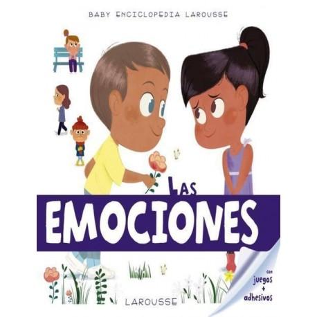 LAS EMOCIONES BABY ENCICLOPEDIA Larousse Portada Libro