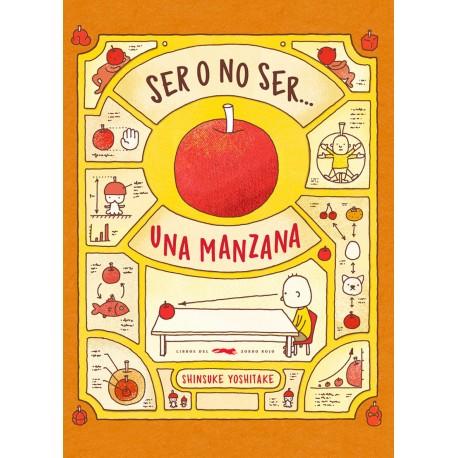 SER O NO SER UNA MANZANA Libros del Zorro Rojo Portada Libro