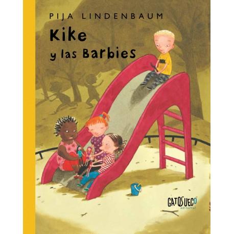 KIKE Y LAS BARBIES Gato Sueco Portada Libro