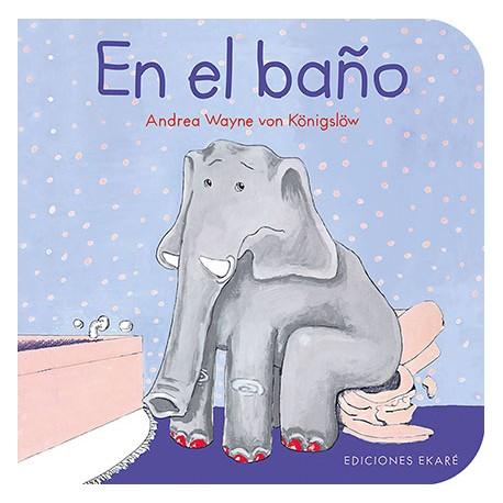 EN EL BANO Ekare Portada Libro