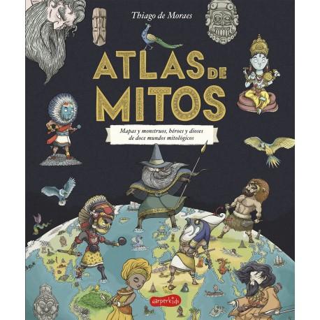 ATLAS DE MITOS HarperKids Harper Collins Iberica