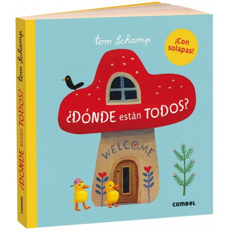 DONDE ESTAN TODOS LIBRO CON SOLAPAS