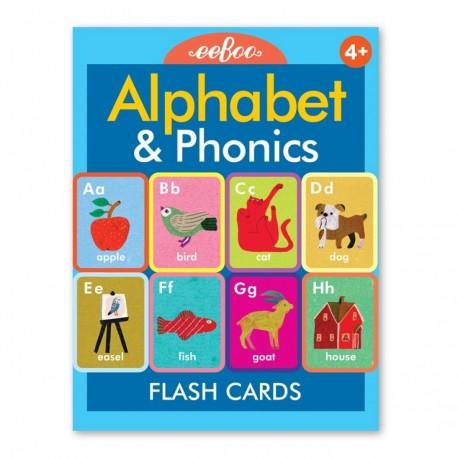 FLASH CARDS ALPHABET & PHONICS EEBOO