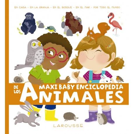 MAXI BABY ENCICLOPEDIA DE LOS ANIMALES