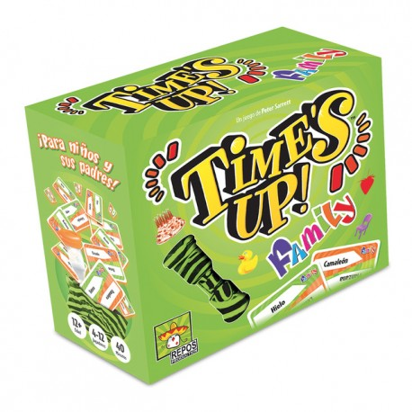 TIME'S UP FAMILY Asmodee