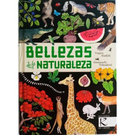 BELLEZAS DE LA NATURALEZA Kalandraka Portada