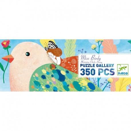 PUZZLE MISS BIRDY DJECO 350