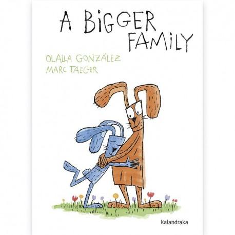 A BIGGER FAMILY LIBRO EN INGLES