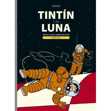 TINTIN Y LA LUNA Libro
