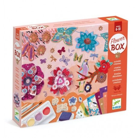 COFRE MULTIACTIVIDADES FLOWER BOX