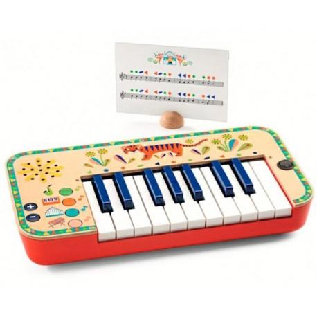 PIANO SINTETIZADOR ANIMAMBO Djeco