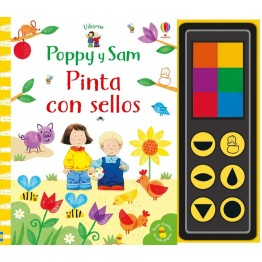 PINTA CON SELLOS POPPY Y SAM