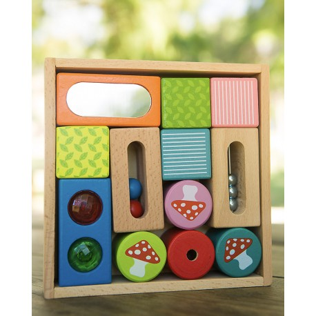 ECO BLOQUES DE MADERA Wooden discovery blocks EverEarth