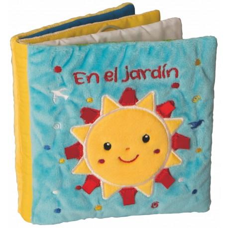 LIBRO TELA EN EL JARDIN Combel