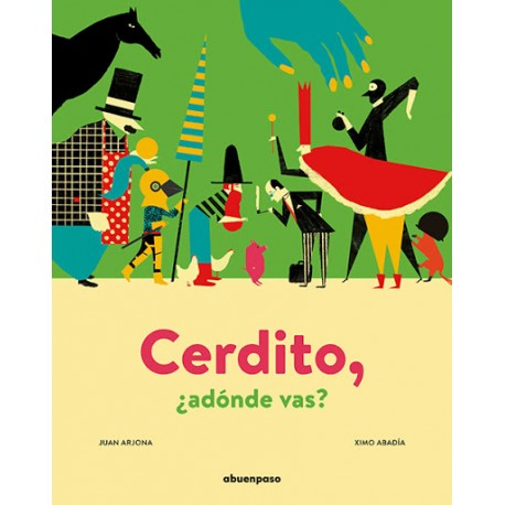 CERDITO ADONDE VAS Libro