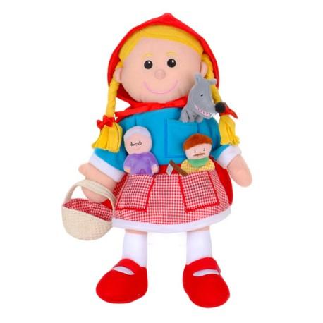 Marioneta caperucita roja Fiesta Craft