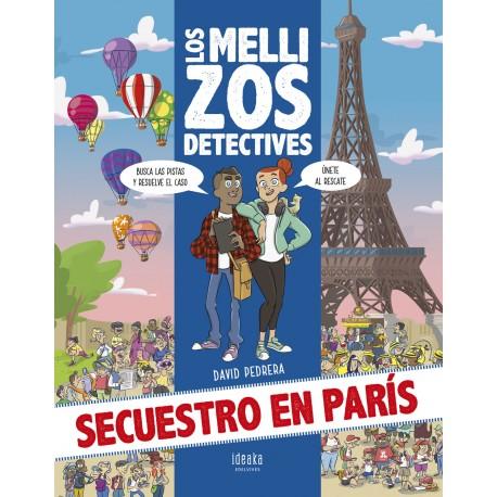 Secuestro en París Ideaka Edelvives David Pedrera Macías