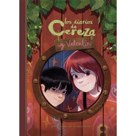 Los diarios de Cereza y Valentín Alfaguara de Joris Chamblain