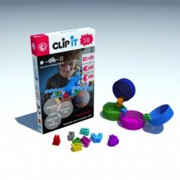 CLIP IT 3D 90 CLIPS. CONSTRUCCIÓN CON TAPONES