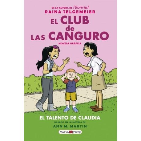EL TALENTO DE CLAUDIA CLUB DE LAS CANGURO
