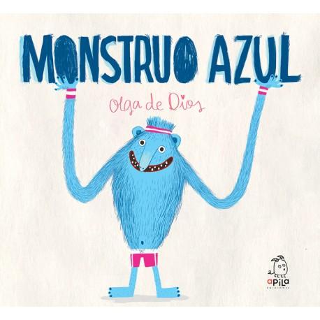 MONSTRUO AZUL Libro