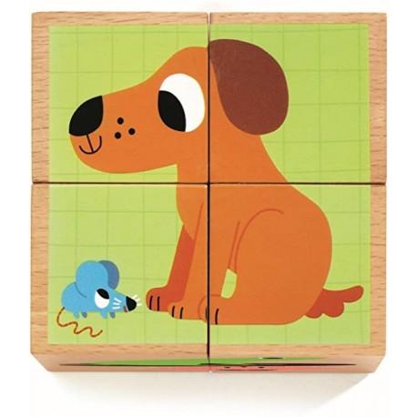ROMPECABEZAS ANIMALES Djeco