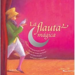 LA FLAUTA MÁGICA LIBRO + CD