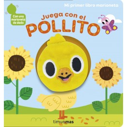 JUEGA CON EL POLLITO. LIBRO MARIONETA